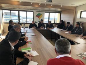 Reunião aconteceu no auditório da AGM, em Porto Alegre (Foto: Vanessa Paliosa)