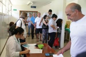 Campanha de vacinação contra a Gripe no Distrito Federal.
