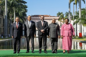 Cerimônia Oficial de Chegada dos Ministros de Relações Exteriores do BRICS. Local: Palácio do Itamaraty, Rio de Janeiro. Foto: Arthur Max/MRE